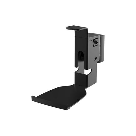 Monoprice Premium Fixed Wall Mount for SONOS PLAY:5 Speakers - Black With Cable Management and Stable Base For Home theater ()