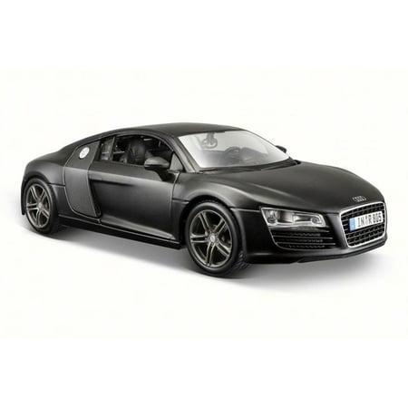 Audi R8, Black - Maisto 31281BK - 1/24 Scale Diecast Model Toy Car ()