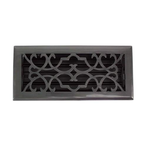 """Brass Elegans 120B 2 1/4"""" x 12"""" Victorian Series Solid Brass Decorative Floor Re"""