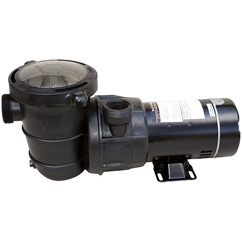 Blue Wave 1 HP Maxi Replacement Pump for Above-Ground Pools