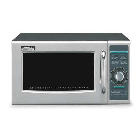 Sharp R21LCF Commercial Professional Microwave Oven, Digital Timer