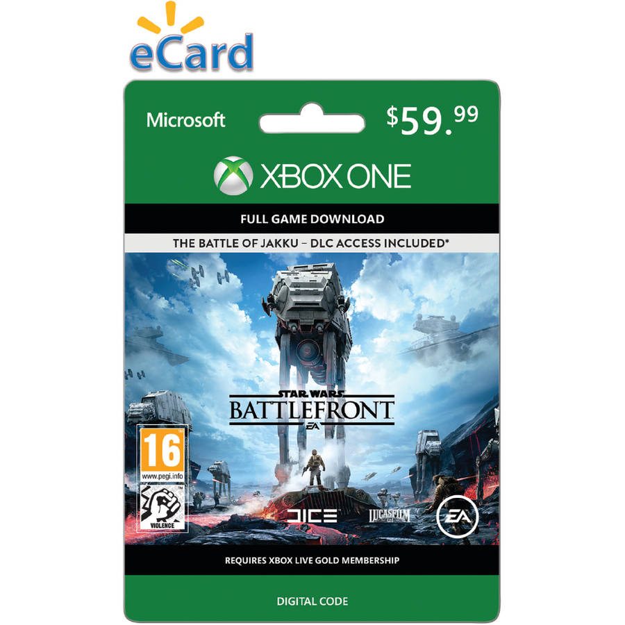 Star Wars Battlefront (Xbox One) (Email Delivery)