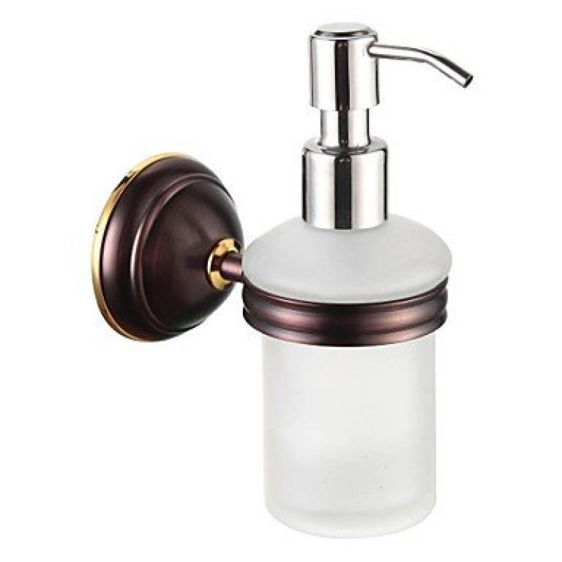 Bathroom Accessories Solid Brass Soap Dispenser Oil Rubbed Bronze