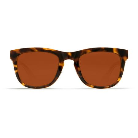 4a31fe2fb7d31 Costa Del Mar - Costa Del Mar Copra Shiny Retro Tort Cream Salmon Sunglasses  - Walmart.com