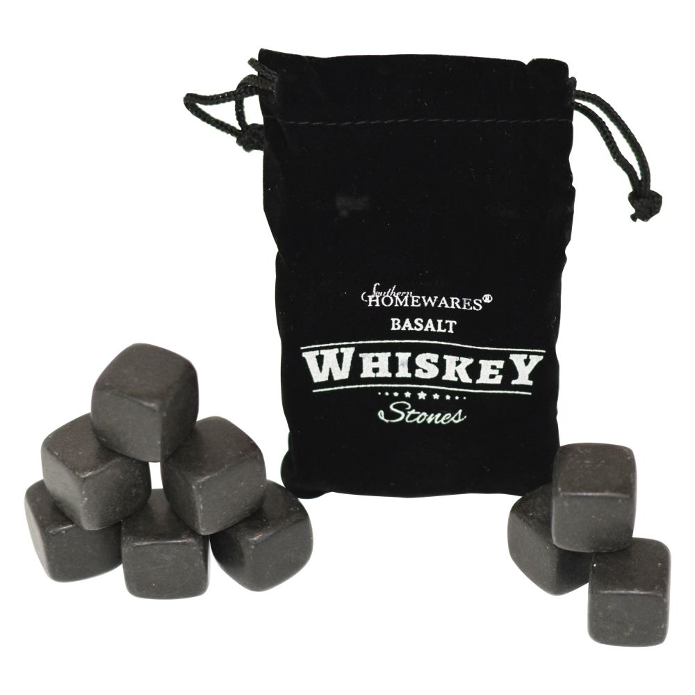 Southern Homewares Basalt Whiskey Stones - Set of 9