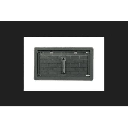 - Vestal 8 in. H x 16 in. W Plastic Manual Damper Vent
