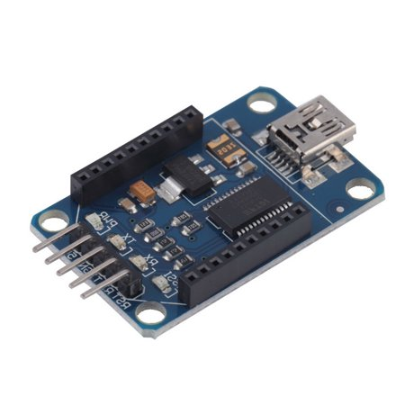 Mini Bluetooth Bee Ft232rl Usb To Serial Adapter Module Usb To 232 Xbee Adapter For Arduino Pro Mini Downloader Blue Wholesale