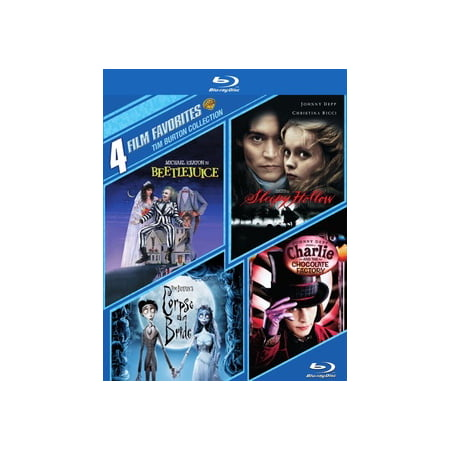 4 Film Favorites: Tim Burton Collection (Blu-ray) for $<!---->