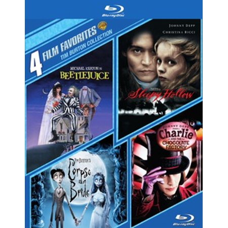 4 Film Favorites: Tim Burton Collection (Blu-ray)