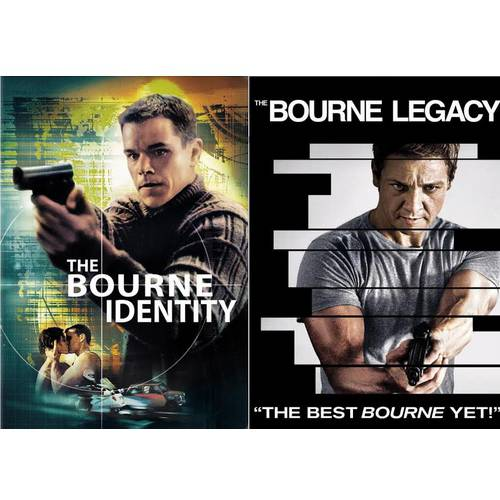 The Bourne Legacy / The Bourne Identity (Walmart Exclusive) (Anamorphic Widescreen)