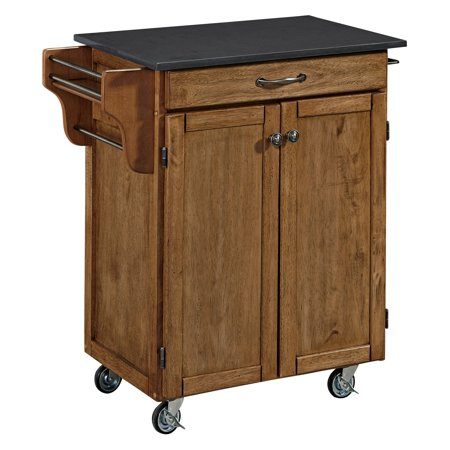 Home Styles Cuisine Cart 34.75 in. Portable Kitchen (00 Cuisine Cart)