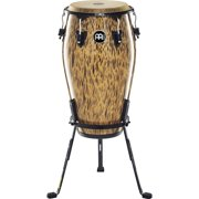 Meinl 30th Anniversary Edition Marathon Classic Series Conga with Steely II Stand Leopard Burl 12.5