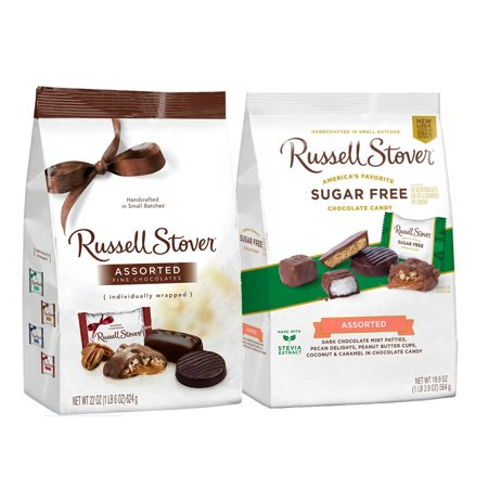 Russell Stover Easter - Russell Stover Chocolate Pack - Sugar Free, Assorted Varieties (2 Pack)
