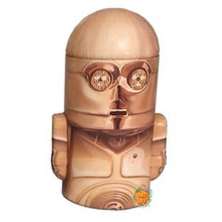Star Wars Rounded Figure Tin Coin Bank   C3po