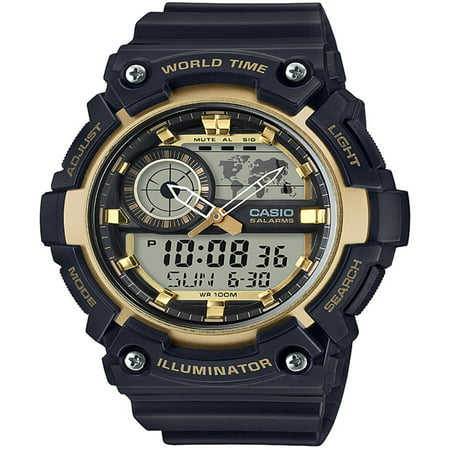 63f678a1d26 Casio - Men s Analog-Digital World Time Watch