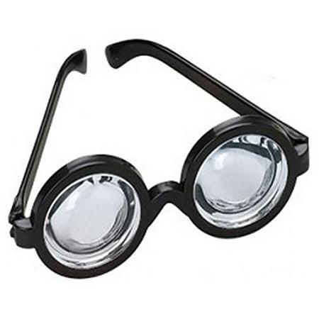 Nerd Doctor Glasses Magic Black Frame (Pack of 12)