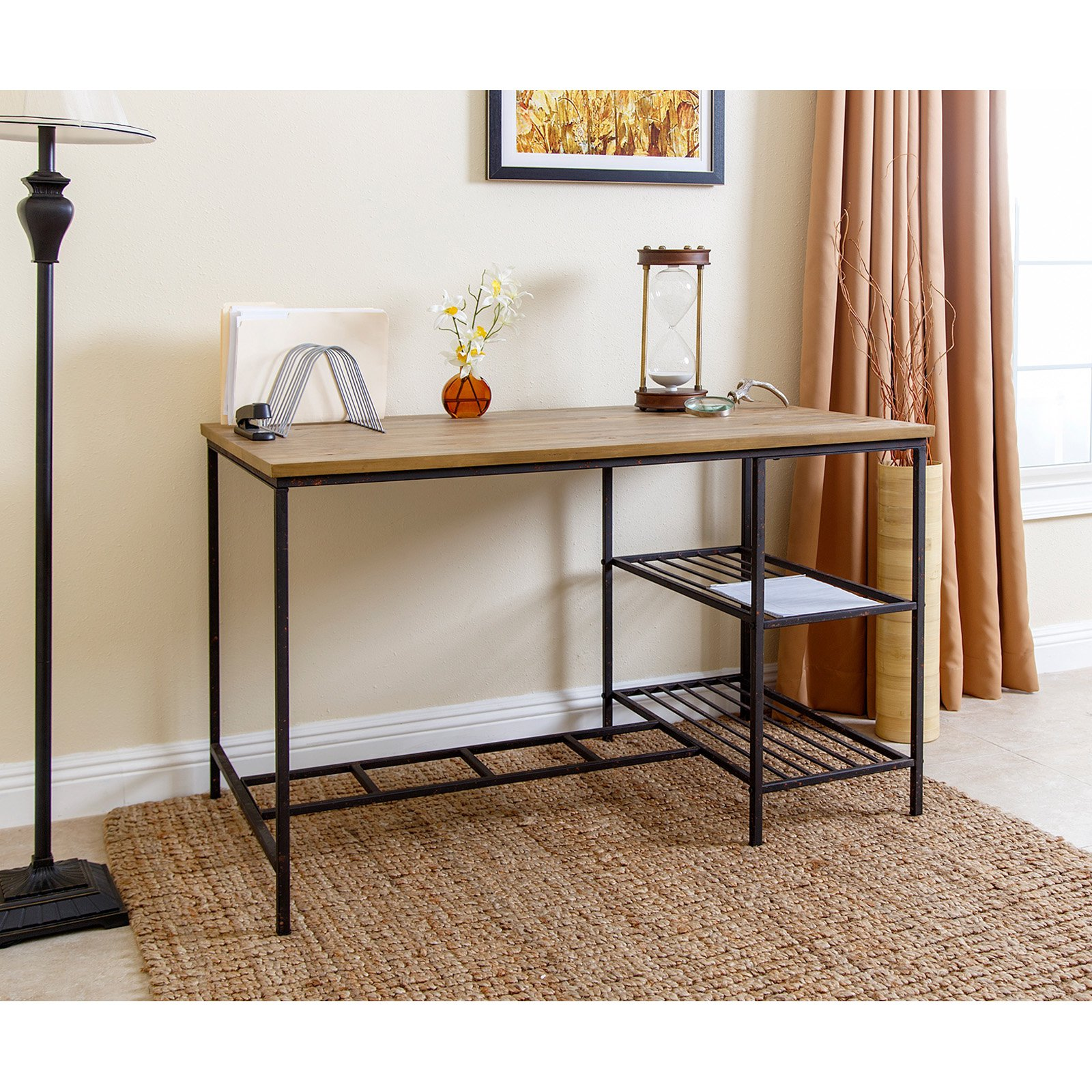 Abbyson Living Abbyson Hillman Industrial Office Desk
