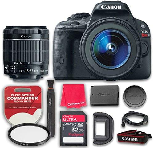 Canon EOS Rebel SL1 18.0 MP CMOS Digital SLR Full HD 1080...