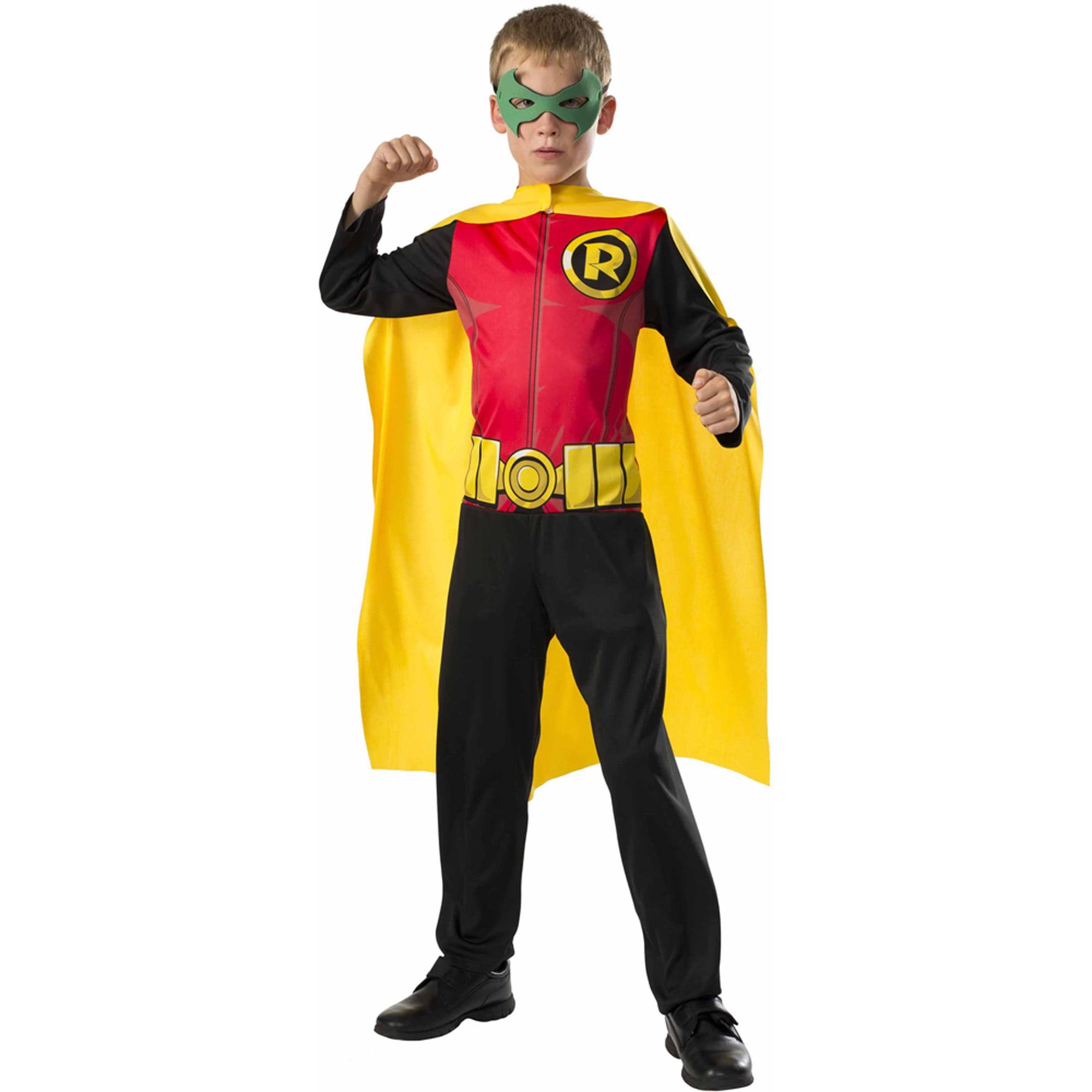 Robin Boys Jumpsuit Halloween Costume