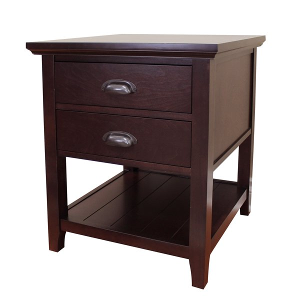 "Lindendale 26"" H. End Table - Walmart.com - Walmart.com"