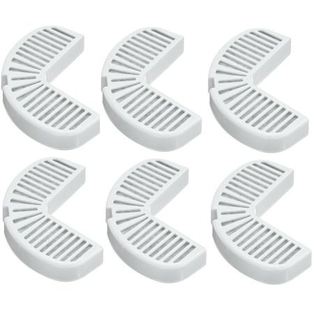 Pioneer Pet Replacement Filters for Ceramic and Stainless Steel Fountains, 2 Pack (6 filters) 2 Pack Replacement Filter