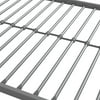 YourZone Kids' Metal Bed Frame, Multiple Sizes, Multiple Colors