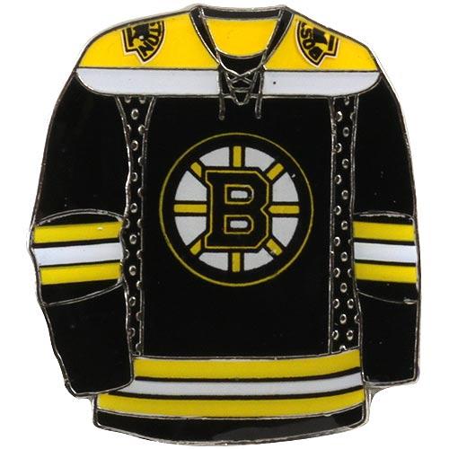 Boston Bruins Jersey Pin - Black - No Size