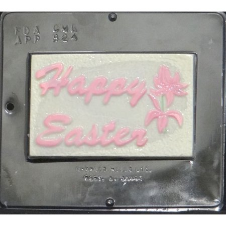 - 824 Happy Easter Chocolate Candy Mold
