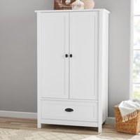 Better Homes & Gardens Lafayette Armoire, White Finish