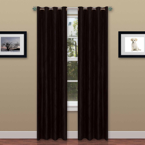"Textured Wavy Curtain Panel with Grommets 56"" x 84"" 2 Panels by Somerset Home by TRADEMARK GAMES INC"