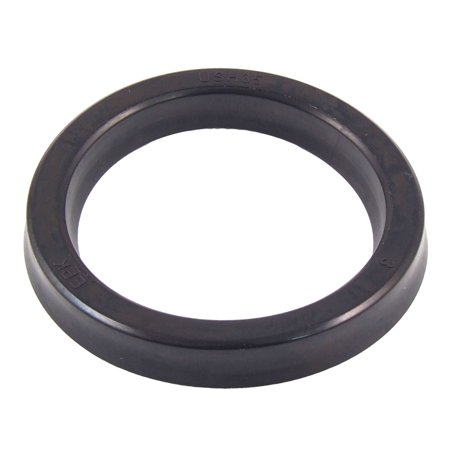 Rubber Oil Seal - Unique Bargains USH 35mm/45mm/6mm Hydraulic Rubber Oil Seal for Pump Engine