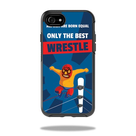 Skin for OtterBox Symmetry iPhone 8 - Best Wrestle| MightySkins Protective, Durable, and Unique Vinyl Decal wrap cover  | Easy To Apply, Remove, and Change Styles | Made in the