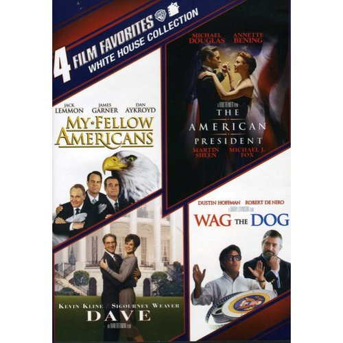 4 Film Favorites: White House - An American President / My Fellow Americans / Dave / Wag The Dog