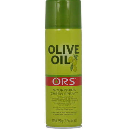 Beautiful Oil Sheen Spray - Olive Oil Ors Nourishing Sheen Spray, 11.7 oz (Pack of 3)