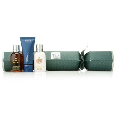 Molton Brown 3-Piece Black Peppercorn Face & Body Cracker Gift Set C444067