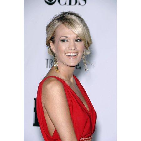 Carrie Underwood At Arrivals For Conde Nast Movies Rock   A Celebration Of Music In Film Canvas Art     16 X 20