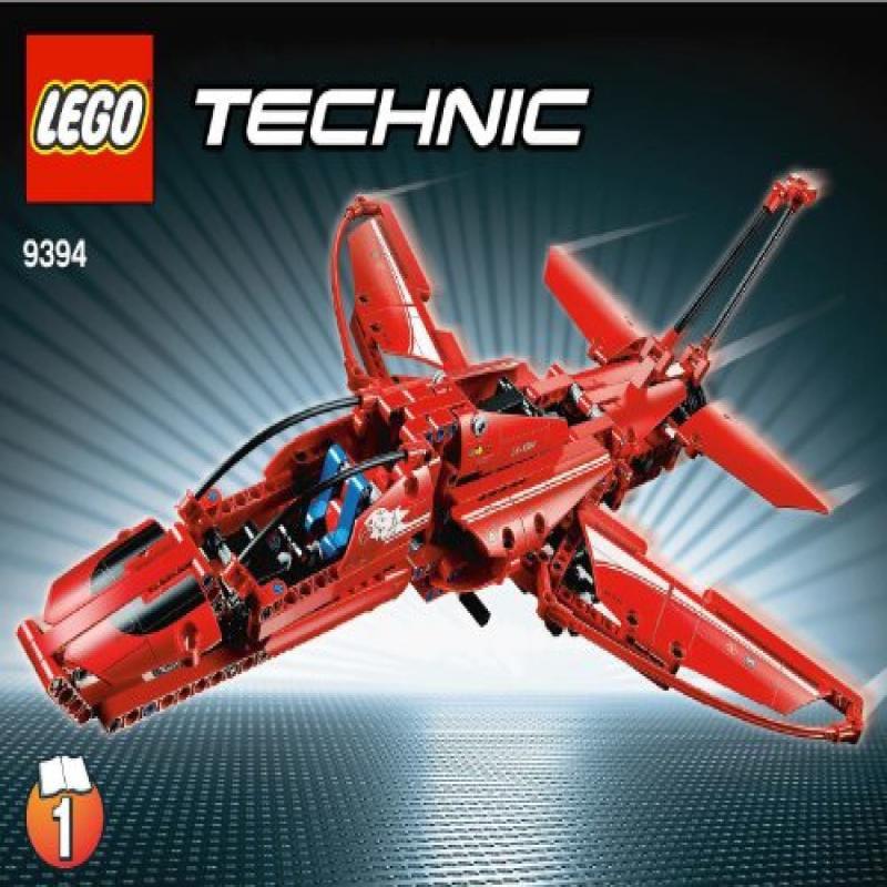 Nerf Lego Technic Jet Plane - 9394