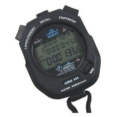 Ultrak 495 100 Lap Digital Stopwatch (30 Lap Stopwatch)