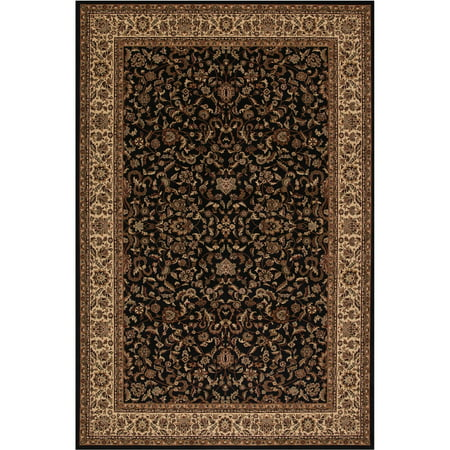 Concord Global Trading Persian Classics Collection Kashan Area Rug Kashan Persian Area Rug Carpet