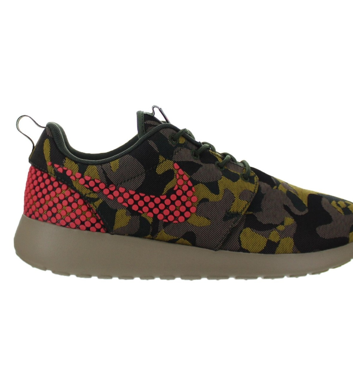 Womens Nike Roshe One Premium Plus Desert Camo Hot Lava Black Green 80