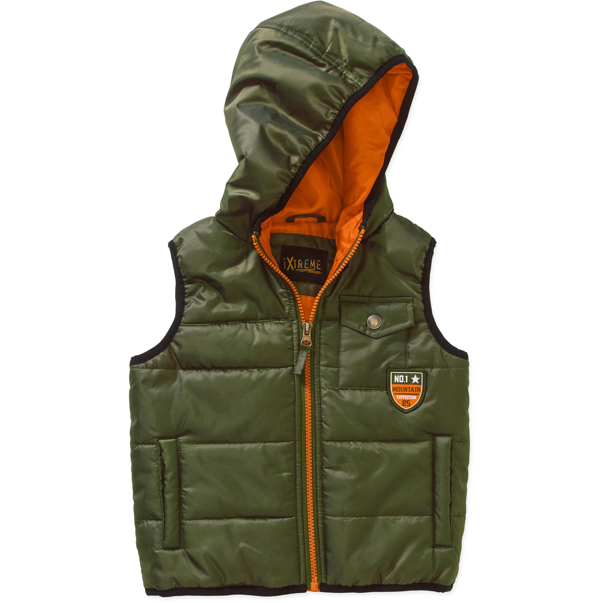IXtreme Toddler Boy Hooded Puffer Vest