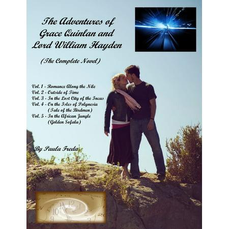 The Adventures of Grace Quinlan and Lord William Hayden, The Complete Novel - eBook (William Haken)