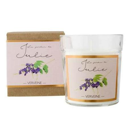 VERVEINE Le Jardin De Julie  Pot Parfume Scented Jar Candle by