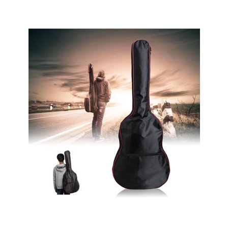 "Full Size 41"" Protective Classical Acoustic Guitar Back Shoulder Hand Carry Cover Bag Carry Case Holder"