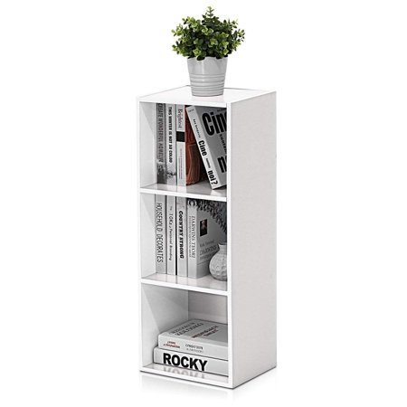 Hilitand  3/4-Shelf Cube Storage Bookcases & Bookshelves Furniture Adjustable Book Storage & Organizer ()