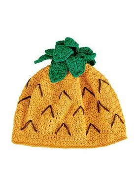 Infant San Diego Hat Company Crochet Pineapple Beanie DL2542 Pineapple S (6-12M)