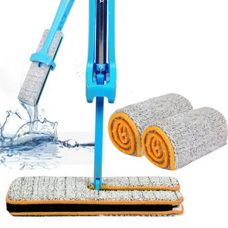 - Double Sided Non Hand Washing Mop Accessories Dust Push Mop Cloth Clean Tool