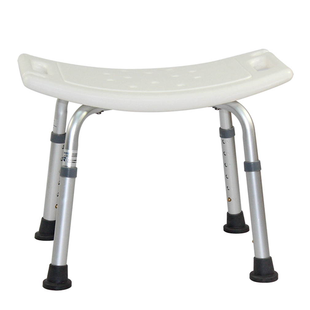new white bath tub safety shower stool chair seat bench non slip light weight