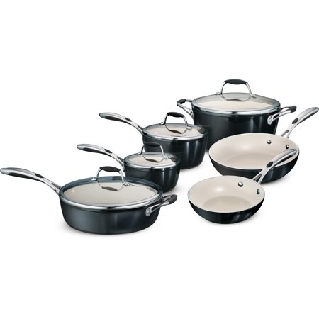 Tramontina Gourmet Ceramica Deluxe 10-Piece Cookware Set