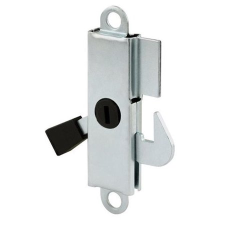 Aluminum Sliding Door Internal Lock With Steel Hook And Lever Prime-Line 151890